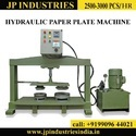 fully automatic double die paper plate machine