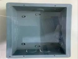 Square PVC Concealed Box, For Switches