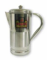 Stainless Steel Jug Pitcher 1 Liter Water Oil Storage Serving Drinking Pot