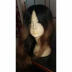 Wavy Human Hair Wig