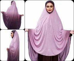 Stitched Instant Chaderi Islamic Abaya Dress Hijab