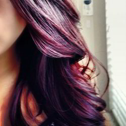 Burgundy Blusterous Hair Color