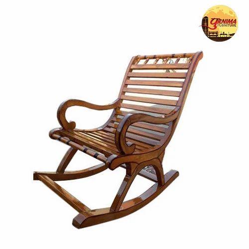 Modern Designer Wooden Rocking Chair
