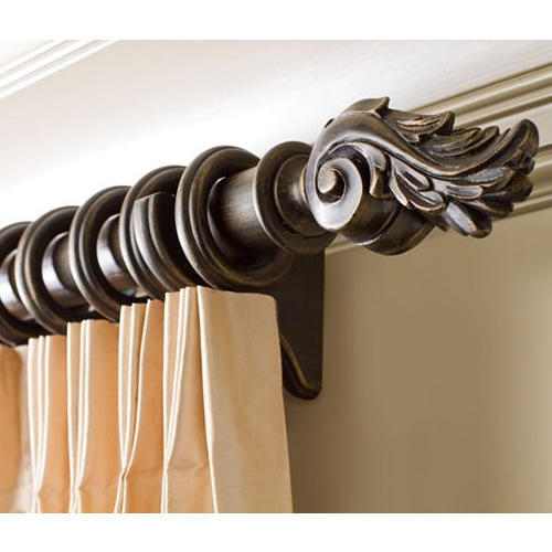 Home Wooden Curtain Rod