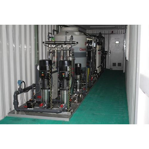 Stainless Steel Containerized RO System, Industry