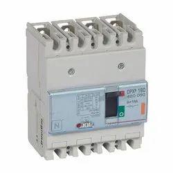 DPX3 160 MCCB 4P Breaking Capacity Icu 25 KA (400 V) 16A