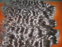No Split End Indian Human Loose Wavy Hair