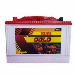 Exide Gold HCV Truck Battery, Model Number: Gold80r, 5.1