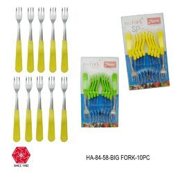 Fruit Fork Stainless Steel Pack of 10 Pcs-HA-84