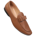 Brown Synthetic Mens-loafer Leather Shoes, Size: 6 - 10