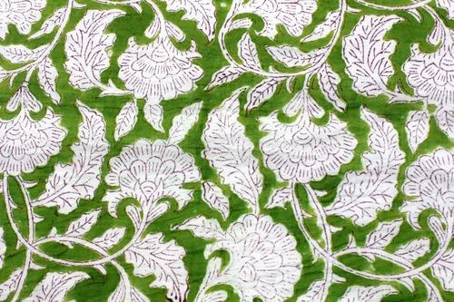 Indian Hand Block Print Fabric 100/% Pure Cotton Dress Material Running Fabric