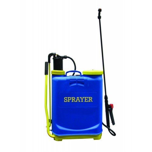 Charlie Blue Backpack Sprayers, For Spraying, Capacity: 16 liters