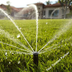Landscape Sprinkler Irrigation Systems