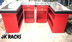 Office Table & Cash Counter with Out Draw 5 x 2