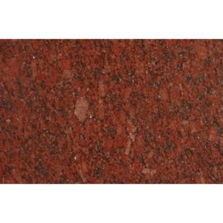 Polished Ruby Red Granite Stone, For Flooring, Thickness: 10 mm