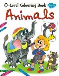 0 Level Colouring Book Animals