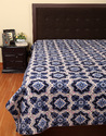 Hotel Printed Kantha Work King Size Cotton AC Quilt