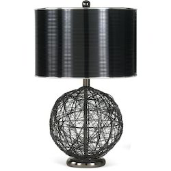Metal table lamp suppliers manufacturers in india metal wire table lamp greentooth Images