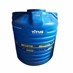 Sintex Titus Blue Plastic Water Tank