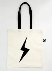 Anoo's White Printed Canvas Bags