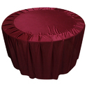 Maroon Table Cover