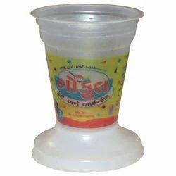 Gaj Gayatri Ice Cream 100/125 Ml Sundae Plastic Cup, Size: Standard