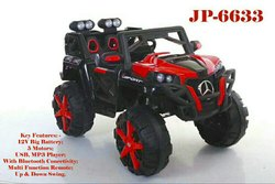 White Battery Operated Ride on Mercedes Vehicle for Kids, Capacity: 40 Kg, Vehicle Model: 6633