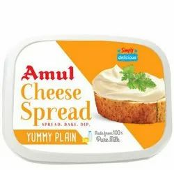 Amul 200gm Cheese Spread mrp 80rs selling price 75rs/