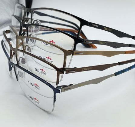 512bfbd9552d Multi Color Rimless Eyeglasses