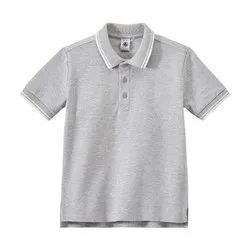 Boys Collar Neck T-Shirt
