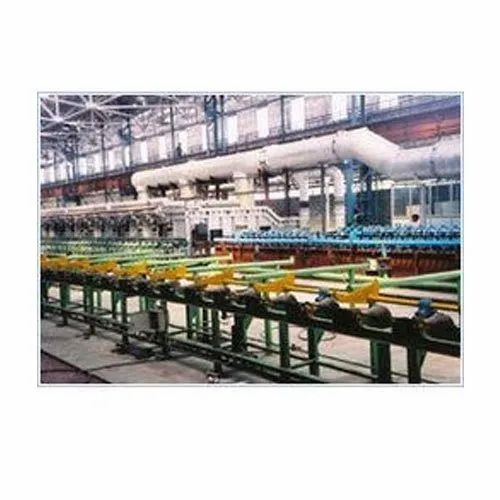 Continuous Tempering and Hardening Line
