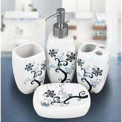 Deluxe Bathroom Set Of 5 Pieces At Rs 1000 Onwards ब थ स ट Ramji Sanitech Pvt Ltd New Delhi Id 8105718855