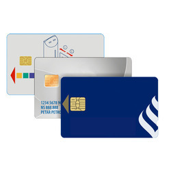 Plastic Contact Chip Card