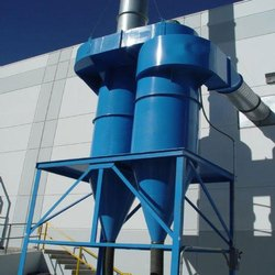 Twin Cyclone Dust Collector