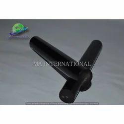 Water Buffalo Horn Black Pen Blanks