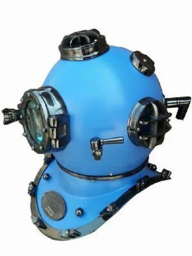 "US Navy Mark V Antique Scuba SCA 18/"" Divers Diving Helmet Deep Sea Marine Style"
