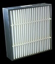 AHU panel filter