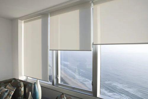 Designer Roller Blinds For Window Rs 100 Square Feet