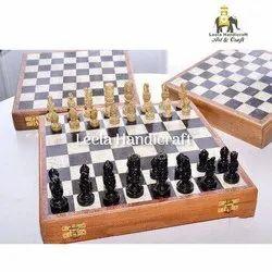 Stone Chess Board Box