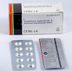 Levocetirizine Hydrochloride And Ambroxol Tablets