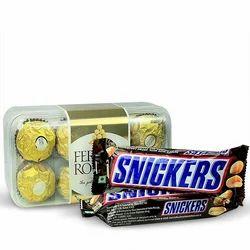 Ferrero Rocher & Snickers Hamper