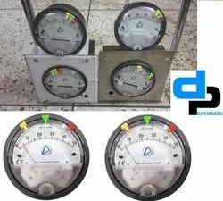 Aerosense Model Asgc - 6mm Differential Pressure Gauge Ranges 3-0-3mm
