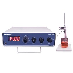 Sansel Lab Model pH Meter, Model Name/Number: PH 300