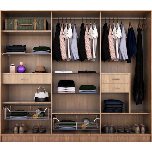 Brown Three Door Sliding Wardrobe Rs 1000 Square Feet Concept 2 Designs Id 16163535630