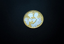 10 Gm. Gold Polish Couple Silver Coin