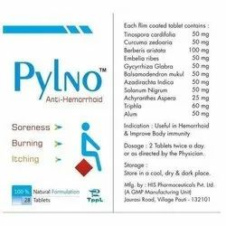 Herbal Extract Piles Tablet, Packaging Type: Box