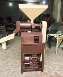 Automatic Mini Rice Mill Machine, Single Phase, Capacity: 100 Kg To 500 Kg Per Hour