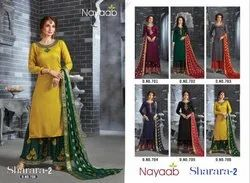 Nayaab Bridal Sharara Suit