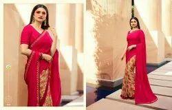 Vinay Sheesha Starwalk 43 Silk Georgette Beautiful Saree Catalog