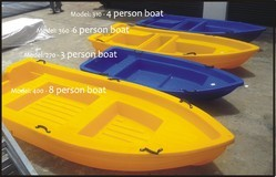 Plastic Boats 3 Person Upto 8 Person Capacity Boats At Affordable Prices For Sale